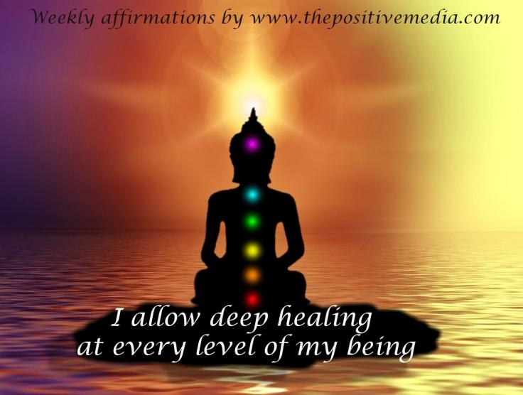 allow healing affirmation