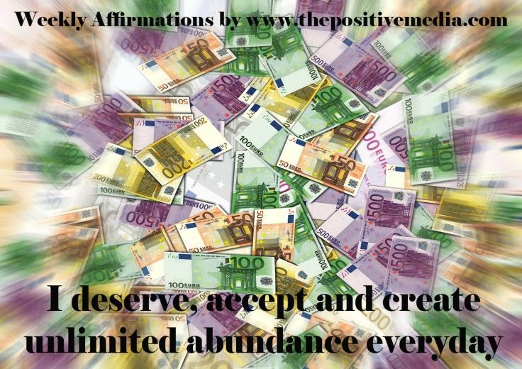 wealth deserve affirmation