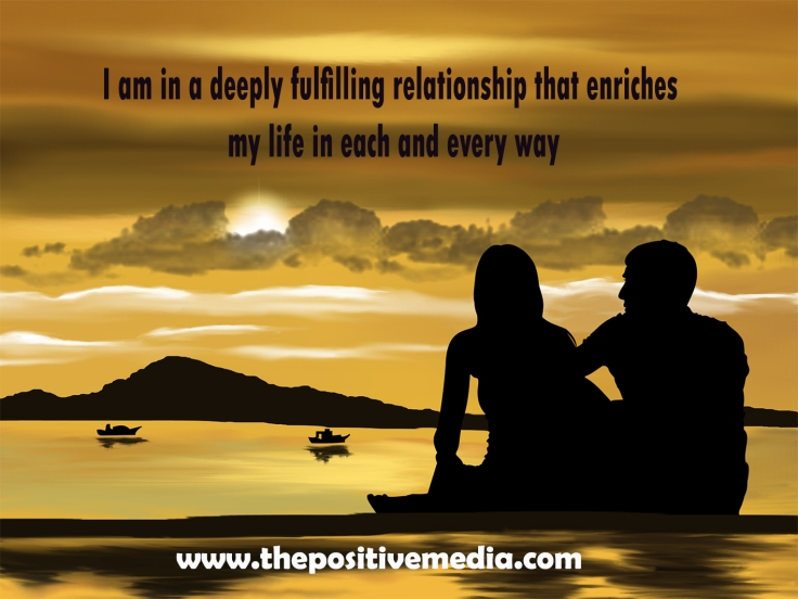 deeply fulfilling relationship