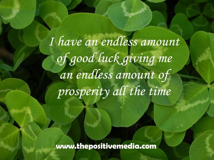 luck clover