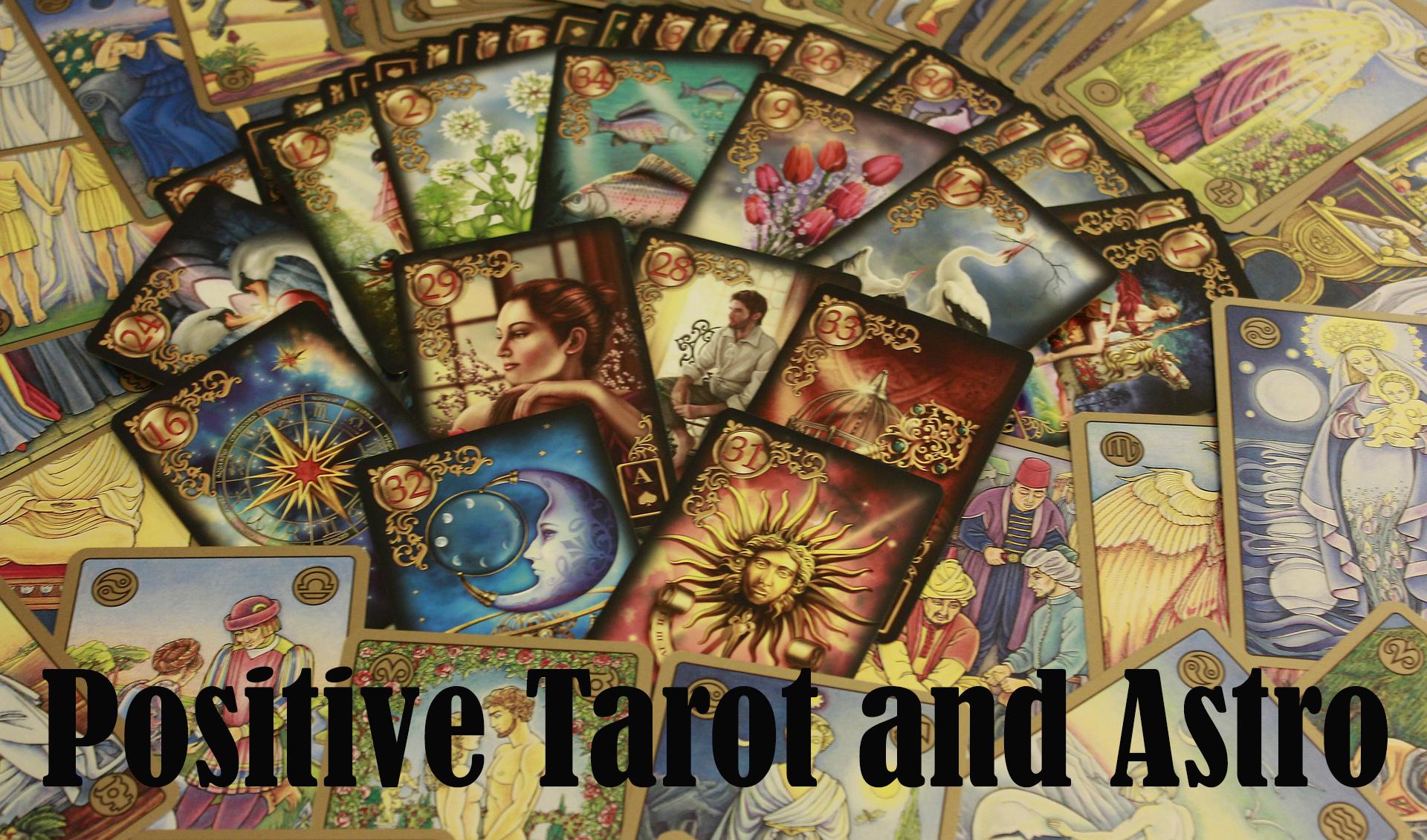 Positive tarot cards