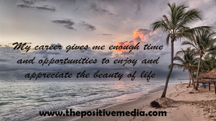 career enjoy life