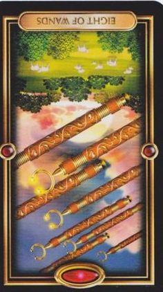 8 wands