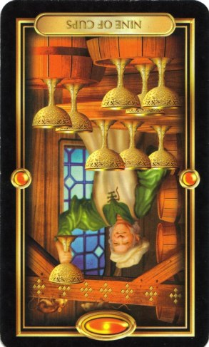 Nine of Cups Reversed (2)
