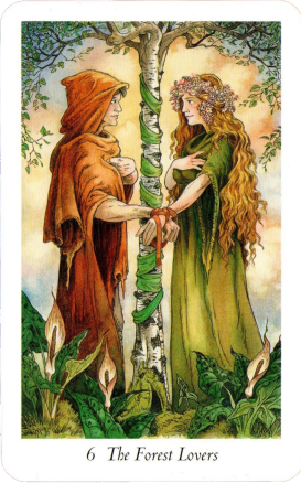 Wildwood Tarot The Forest Lovers