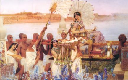 egypt-pajniing-cleopatra
