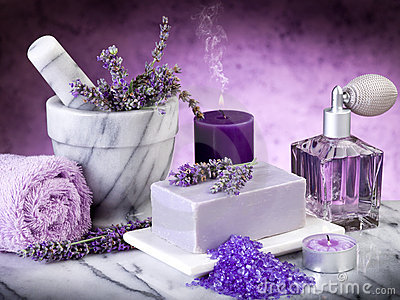 spa-lavender-products-19845303