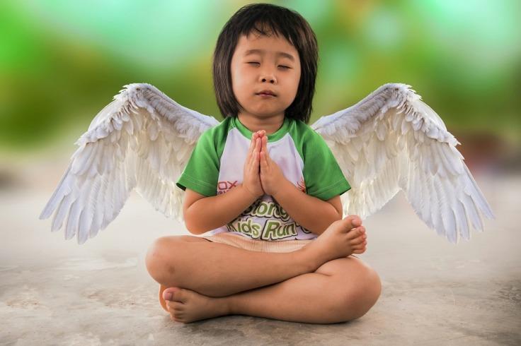 kid meditate