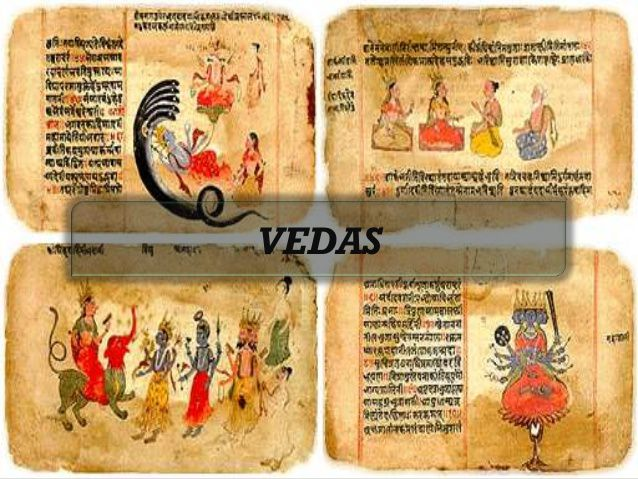The-Four-vedas-of-Hinduism-Rig-Veda-Sama-Veda-yajur-Veda-and-Atharva-Veda